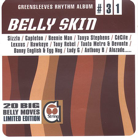 Various - Belly Skin (CD, Comp) - USED