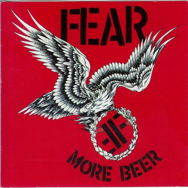 Fear (3) - More Beer (CD, RE) - USED