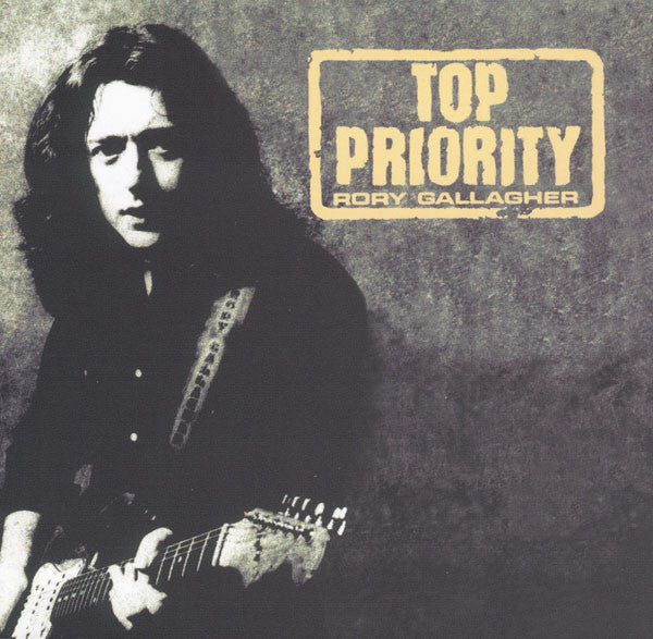 Rory Gallagher - Top Priority (CD, Album, RE, RM) - USED