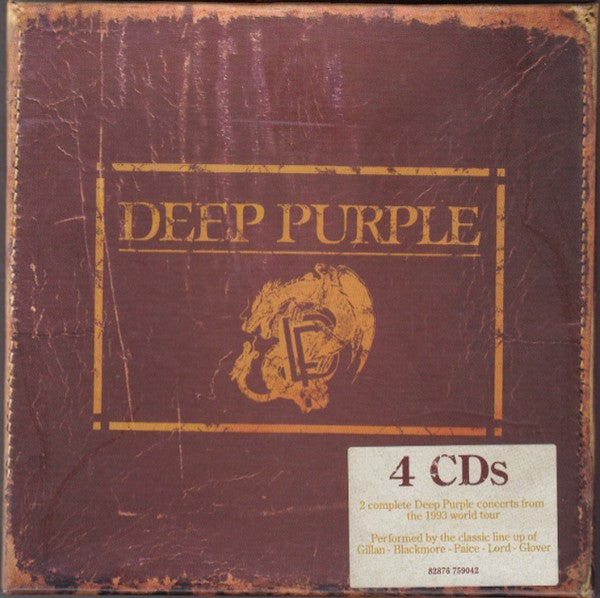 Deep Purple - Live In Europe, 1993 (4xCD, Album, Dou + Box, Har) - USED