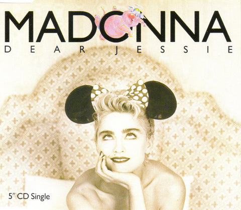 Madonna - Dear Jessie (CD, Single) - USED