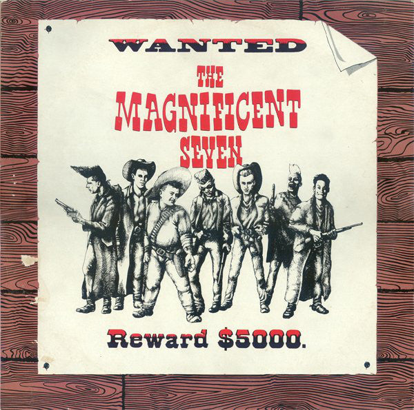 Various - The Magnificent Seven (LP, Comp) - USED