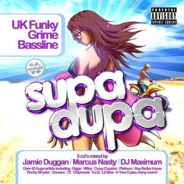 Various - Supa Dupa (3xCD, Comp, Mixed) - USED