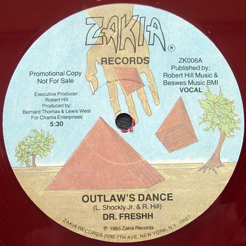 "Dr. Freshh - Outlaw's Dance (12"", Promo, Mar) - USED"