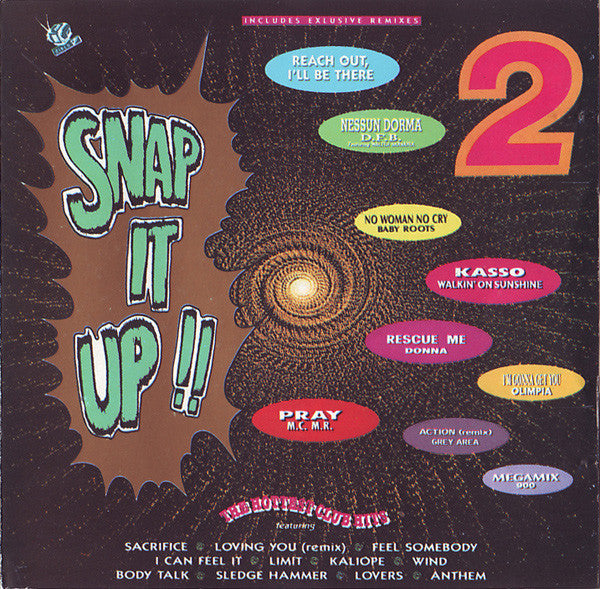 Various - Snap It Up!! Vol.2 (CD, Comp, Mixed) - USED