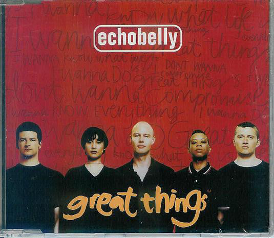 Echobelly - Great Things (CD, Single) - USED