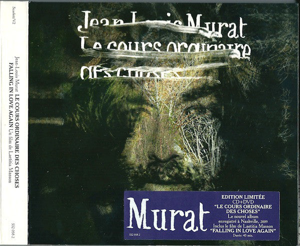 Jean-Louis Murat - Le Cours Ordinaire Des Choses (CD, Album, Dig + DVD, Ltd, Dig) - USED
