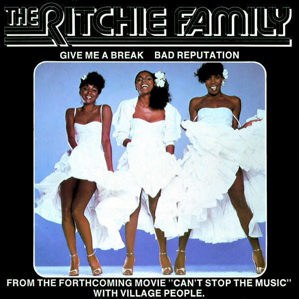 "The Ritchie Family - Give Me A Break (7"") - USED"