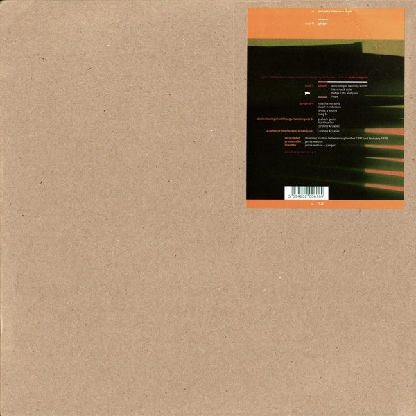 "Ganger - With Tongue Twisting Words (12"", EP) - USED"