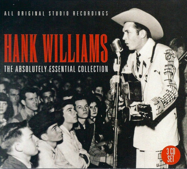 Hank Williams - The Absolutely Essential Collection (3xCD, Comp, RM) - NEW