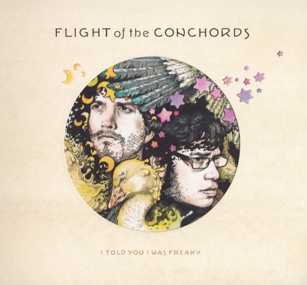 Flight Of The Conchords - I Told You I Was Freaky (CD, Album) - USED