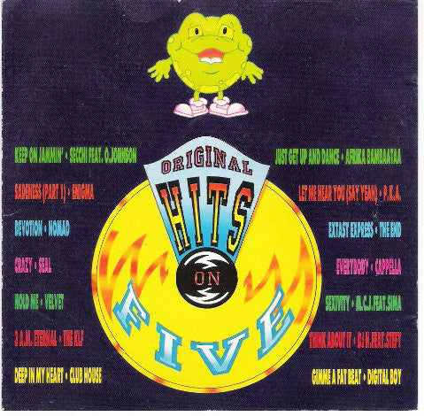 Various - Hits On Five (CD, Comp, Mixed) - USED