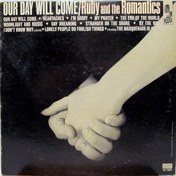 Ruby And The Romantics - Our Day Will Come (LP, Album, Mono) - USED