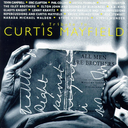 Various - A Tribute To Curtis Mayfield (CD, Album) - USED