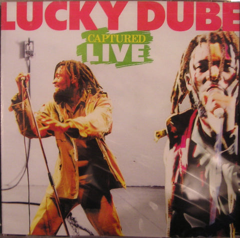 Lucky Dube - Captured Live (CD, Album) - USED