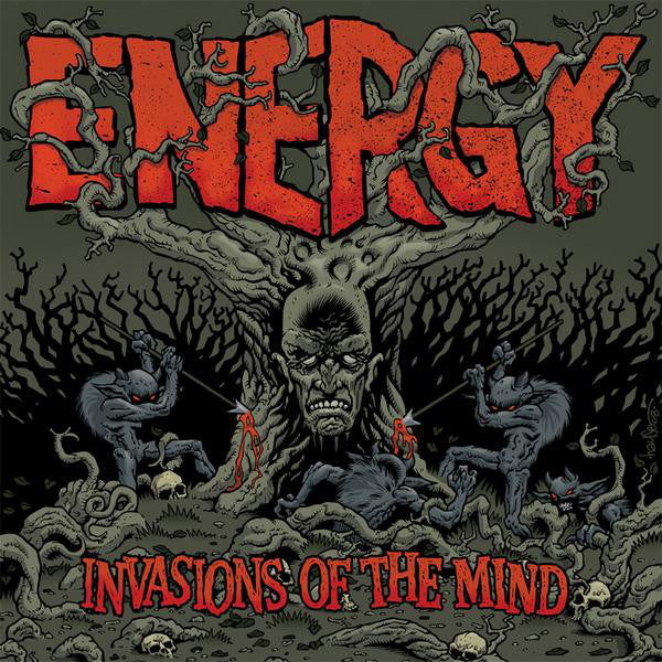 Energy (13) - Invasions Of The Mind (CD, Album) - USED