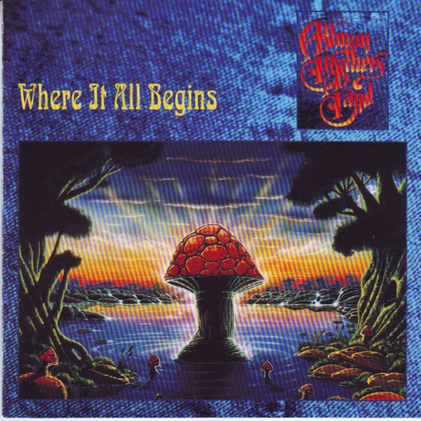 The Allman Brothers Band - Where It All Begins (CD, Album) - USED