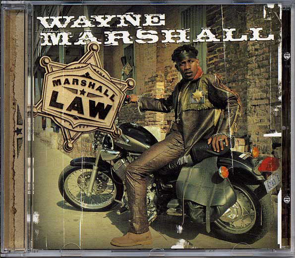 Wayne Marshall - Marshall Law (CD, Album) - USED