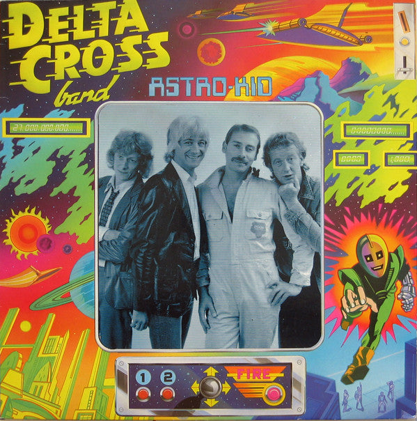 Delta Cross Band* - Astro-Kid (LP, Album) - USED