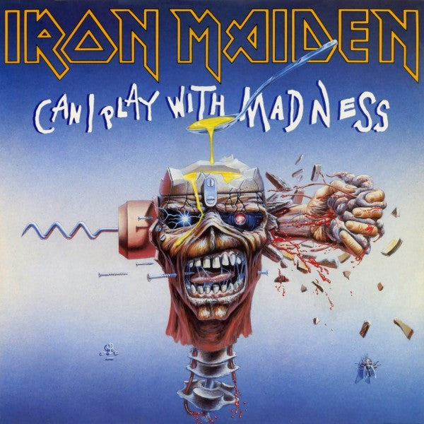 "Iron Maiden - Can I Play With Madness (12"", Maxi) - USED"