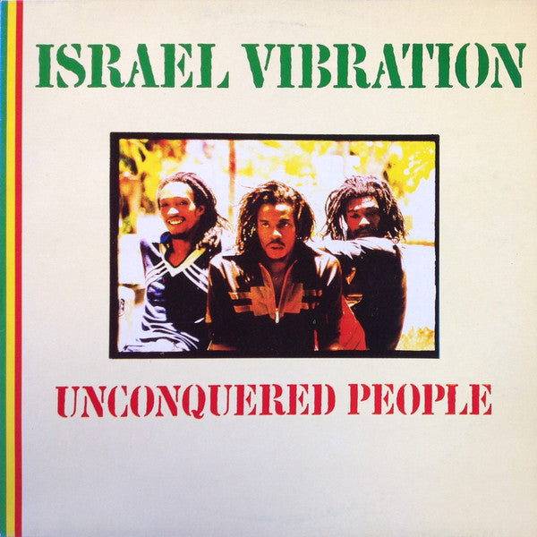 Israel Vibration - Unconquered People (LP, RE) - USED