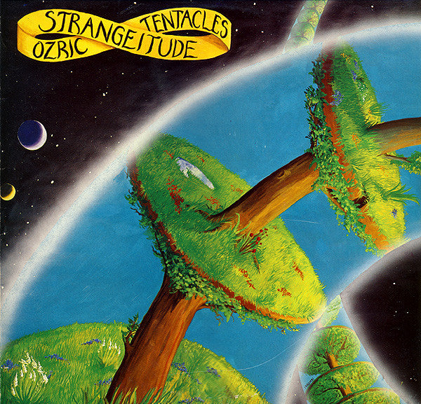 Ozric Tentacles - Strangeitude (LP, Album) - USED