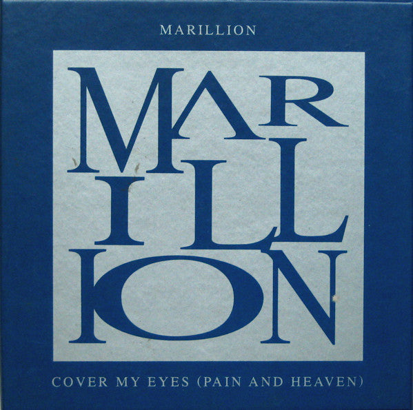 Marillion - Cover My Eyes (Pain And Heaven) (CD, Single, Box) - USED