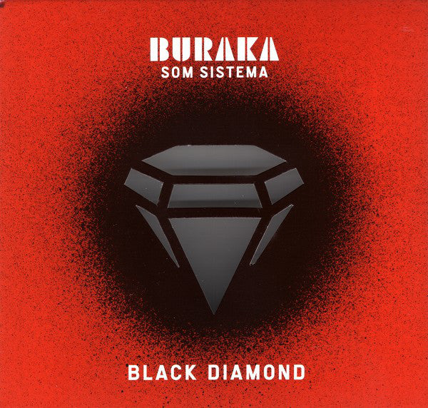 Buraka Som Sistema - Black Diamond (CD, Album) - USED
