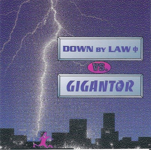 Gigantor Vs. Down By Law (2) - Down By Law Vs. Gigantor (CD, EP) - USED