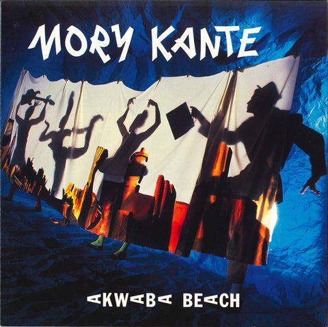 Mory Kanté - Akwaba Beach (LP, Album) - USED