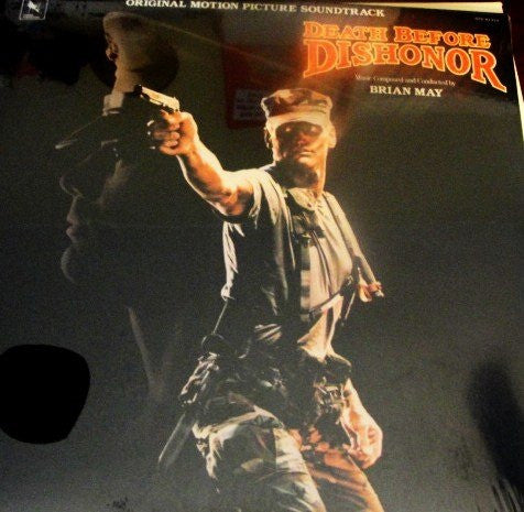 Brian May (2) - Death Before Dishonor (Original Motion Picture Soundtrack) (LP, Album) - USED