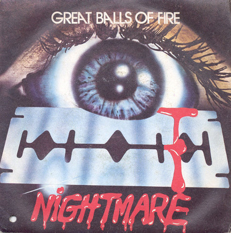 "Nightmare (8) - Great Balls Of Fire (7"", Single) - USED"
