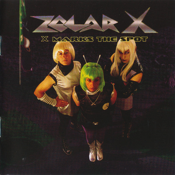 Zolar X - X Marks The Spot (CD, Album) - USED