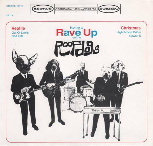 "The Roofdogs - Having A Rave Up With The Roofdogs (7"", MiniAlbum, EP) - USED"