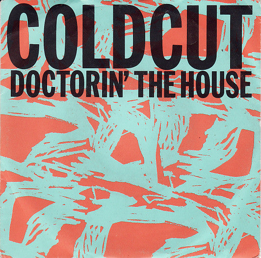 "Coldcut Featuring Yazz & The Plastic Population - Doctorin' The House (7"") - USED"