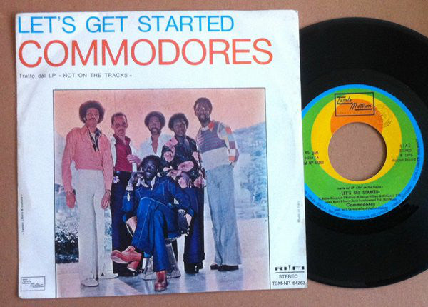 "Commodores - Let's Get Started / Thumpin' Music (7"") - USED"