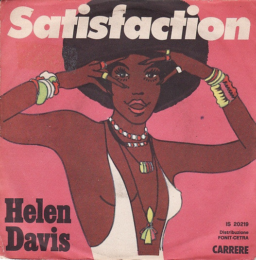 "Helen Davis (2) - Satisfaction / Yesterday A King (7"") - USED"