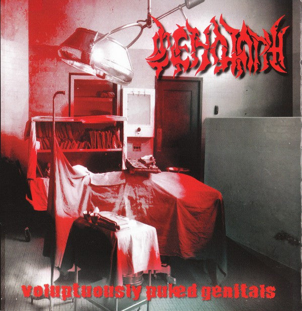 Cenotaph (3) - Voluptuously Puked Genitals (CD, Comp) - USED