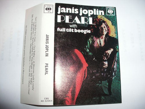 Janis Joplin With Full Tilt Boogie* - Pearl (Cass, Album, RE) - USED