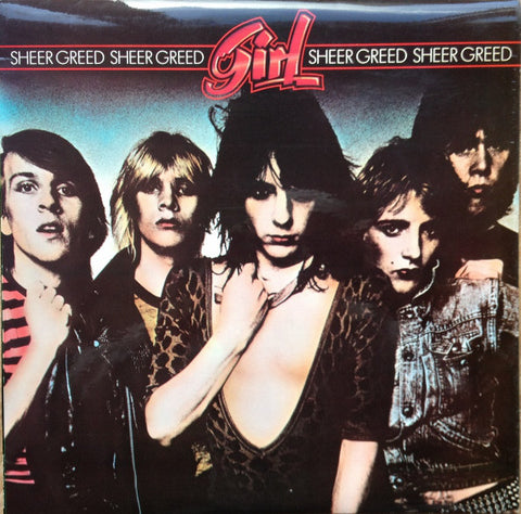 Girl (2) - Sheer Greed (LP, Album) - USED
