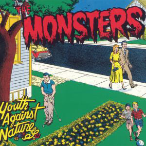 The Monsters (3) - Youth Against Nature (LP, Album, RE, Gat) - USED