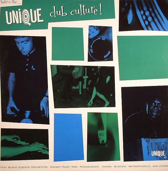 Various - Unique Club Culture (CD, Comp) - USED