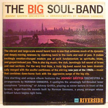 Johnny Griffin Orchestra* - The Big Soul-Band (LP, Album, Mono) - USED