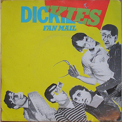 "The Dickies - Fan Mail (7"", Single, Red) - USED"