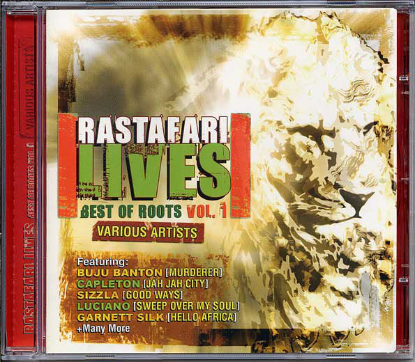 Various - Rastafari Lives - Best Of Roots Vol. 1 (CD, Comp) - USED