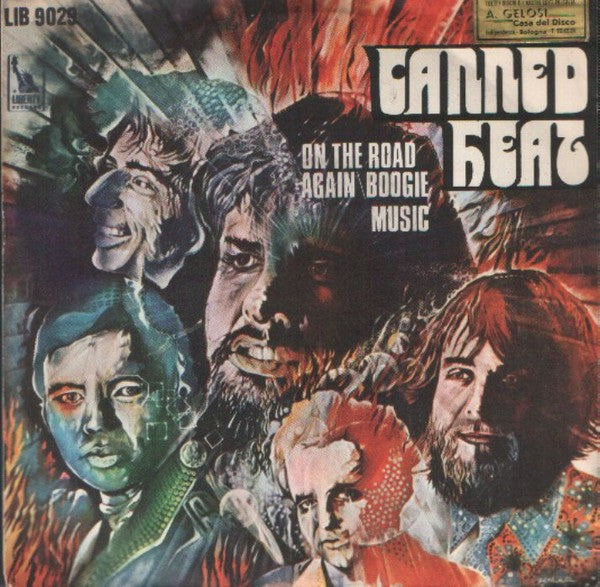"Canned Heat - On The Road Again (7"") - USED"