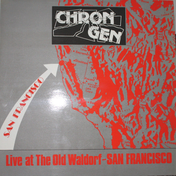 Chron Gen - Live At The Old Waldorf - San Francisco (LP, Album) - USED