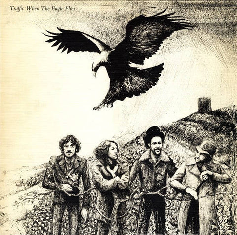 Traffic - When The Eagle Flies (LP, Album) - USED