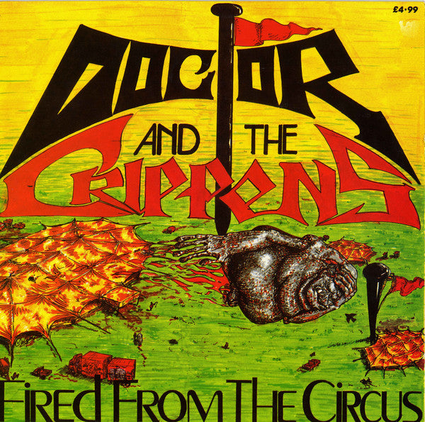 Doctor And The Crippens - Fired From The Circus (LP, Album) - USED