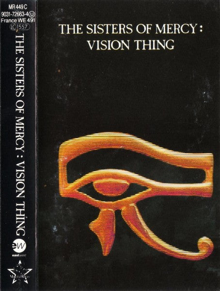 The Sisters Of Mercy - Vision Thing (Cass, Album) - NEW